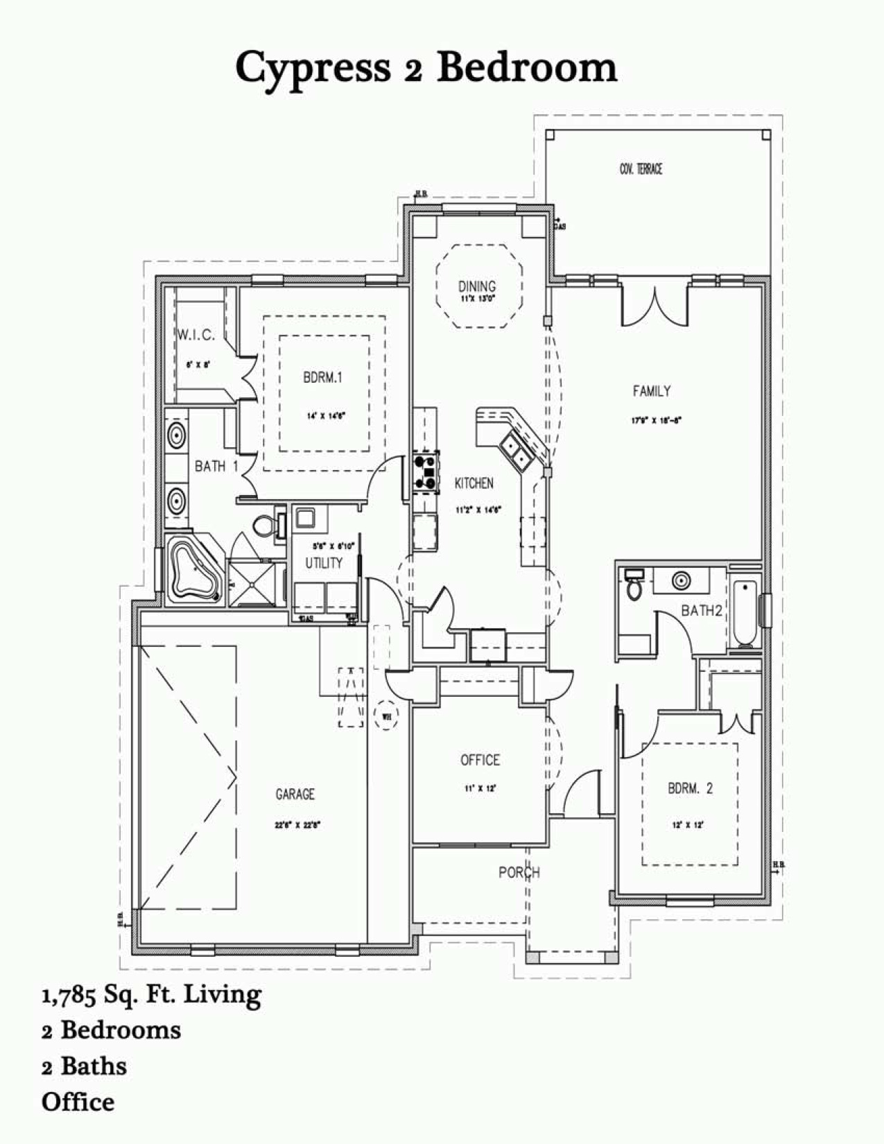 Cypress 2 Br Plan