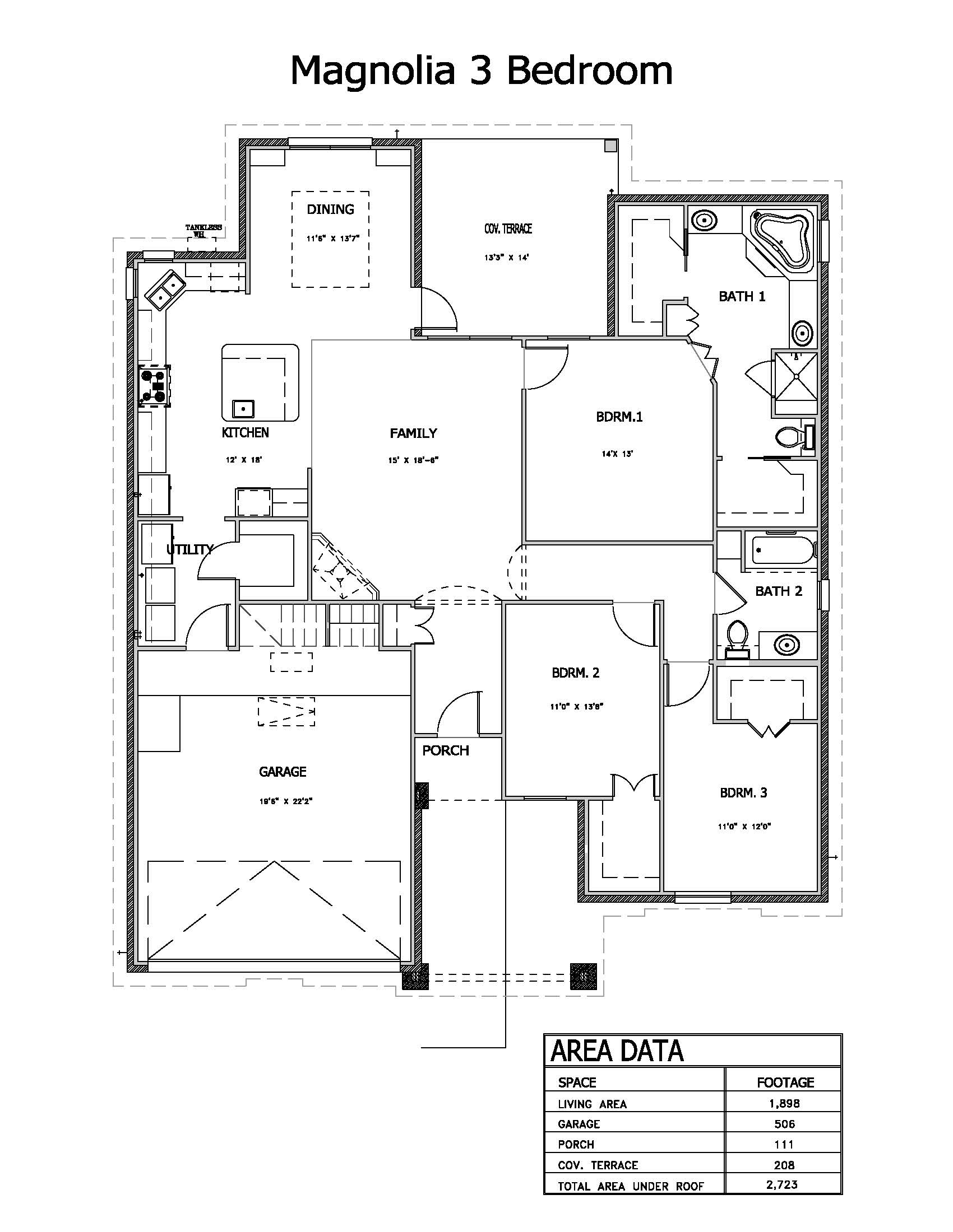 Magnolia 3 Bedroom new
